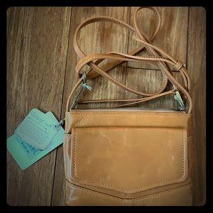 NEW HOBO Crossbody Camel (Dk. Tan) Leather Purse